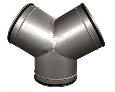 Y型三通金属软管接头